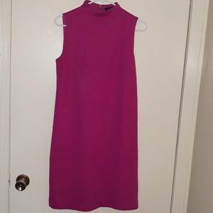 Dresses & Skirts - Pink high neck sleeveless dress